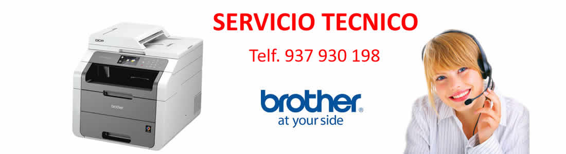 reparacion impresoras brother barcelona