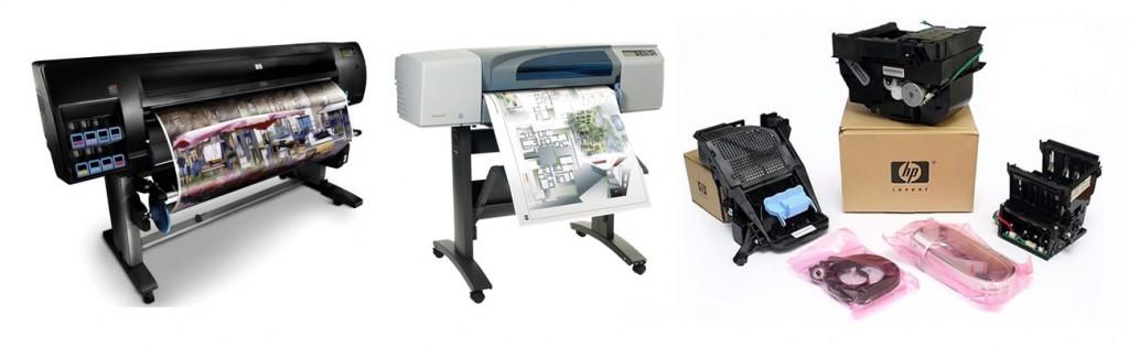 Reparación de Impresoras y Plotter en Barcelona  insitu a domicilio