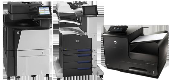 renting impresoras hp