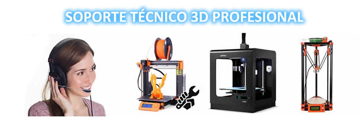asistencia tecnica impresoras 3d