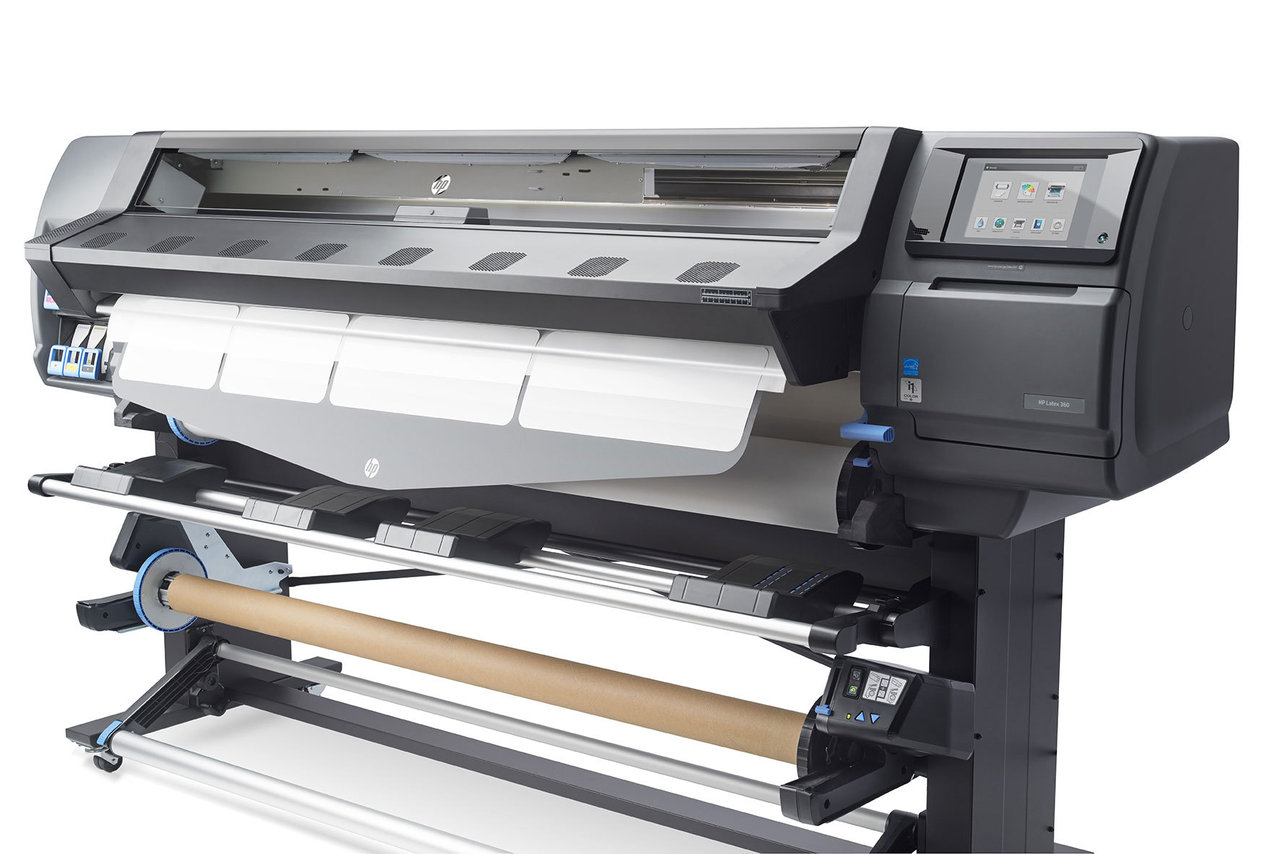 Plotter HP Latex 360  kit de mantenimiento