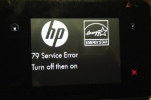 hp error apague encienda